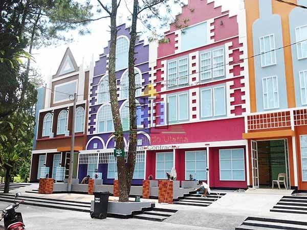 Pekerjaan Fasade Gedung Bazzar & Food Court